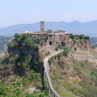 Bagnoregio Civita Panorama